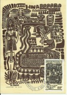 Carte Maximum - Polynesie Française - Legende De Hina - Cartes-maximum