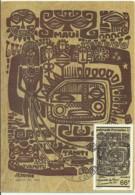 Carte Maximum - Polynesie Française - Legende De Maui - Cartes-maximum