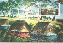 Carte Maximum - Wallis & Futuna - Paysage - Mata-Utui - Maximumkaarten