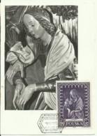 Carte Maximum - Pologne - Madonna - Maximumkarten