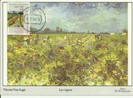 Carte Maximum - Pays Bas - Nederland - Les Vignes - Vincent Van Gogh - Cartas Máxima