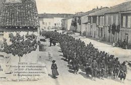 DIEUE ARRIVEE AU CANTONNEMENT DU 155ème INFANTERIE - France