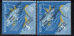 APR2964 - HAITI 1962 , Serie Yvert N. 476/477  **  MNH  (2380A)  Glenn - Haiti