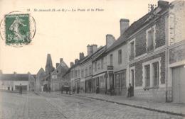 78-SAINT-ARNOULT- LA POSTE ET LA PLACE - St. Arnoult En Yvelines