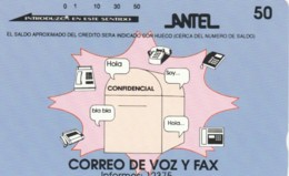 PHONE CARD URUGUAY (E51.16.2 - Uruguay