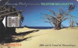 PHONE CARD MADAGASCAR (E51.18.7 - Madagaskar