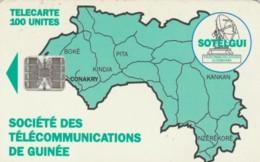 PHONE CARD GUINEA (E51.21.6 - Guinee