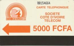 PHONE CARD COSTA D'AVORIO (E51.25.4 - Costa D'Avorio