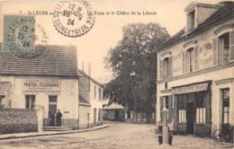 78-SAINT-LEGER-EN-YVELINES- LA POSTE ET LE CHÊNE DE LA LIBERTE - St. Leger En Yvelines