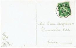 BAVIKHOVE - Relais 1945 Op 675 A - Fantasiekaart - Zie Scans - Postmarks With Stars