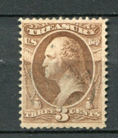 USA Dienst Nr.73           O  Used       (6612) - Officials