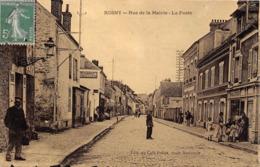 78-ROSNY-RUE DE LA MAIRIE LA POSTE - Rosny Sur Seine