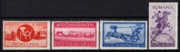 Romania - 1944,  Asistenta P.T.T. 1744-1944 (MiNr. 817-820) MNH Set. - Neufs