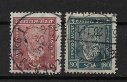 Deutsches Reich  362-363 O - Usados