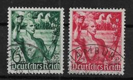 Deutsches Reich  660-661 O - Oblitérés
