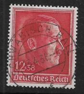 Deutsches Reich  664 O - Oblitérés