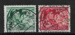 Deutsches Reich  684-685 O - Oblitérés