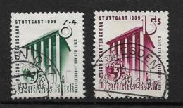 Deutsches Reich  692-693 O - Oblitérés
