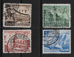 Deutsches Reich  739-742 O - Oblitérés