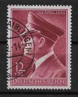 Deutsches Reich  813 O - Oblitérés