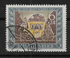 Deutsches Reich  828 O - Oblitérés