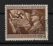 Deutsches Reich  865 O - Oblitérés