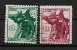 Deutsches Reich  897-898 O - Oblitérés