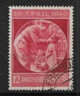 Deutsches Reich  744 O - Oblitérés