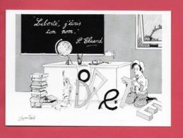 .Illusrateur Pour La Lberté.  Bicentenaire De La Révolution. - Illustrators & Photographers