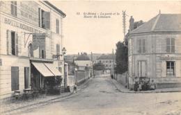 78-SAINT-REMY-LES-CHEVREUSE- LA POSTE ET LA ROUTE DE LIMOURS - St.-Rémy-lès-Chevreuse