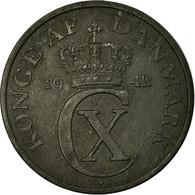 Monnaie, Danemark, Christian X, 2 Öre, 1942, Copenhagen, TB+, Zinc, KM:833a - Dänemark