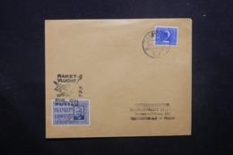 PAYS BAS - Enveloppe Par Fusée En 1947, Affranchissement Et Cachets Plaisants - L 42972 - 1891-1948 (Wilhelmine)