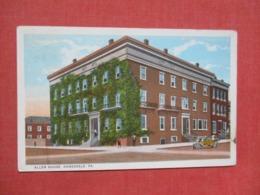 Allen House  Honesdale Pennsylvania    Ref   3658 - United States