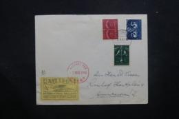PAYS BAS - Enveloppe Par Fusée En 1945, Cachet Et Vignette Plaisants - L 42974 - Brieven En Documenten