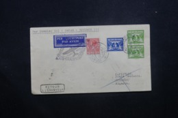PAYS BAS - Enveloppe De Gravenhage Pour Cotonou Par 1er Vol Dakar / Cotonou En 1937, Affranchissement Plaisant - L 42975 - 1891-1948 (Wilhelmine)