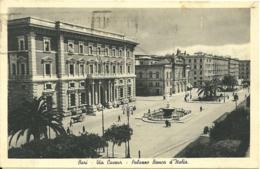 BARI  Via Cavour  Palazzo Banca D'Italia - Bari