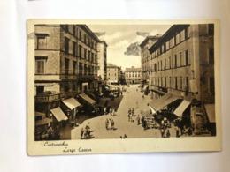 CIVITAVECCHIA  LARGO CAVOUR 1942 - Civitavecchia
