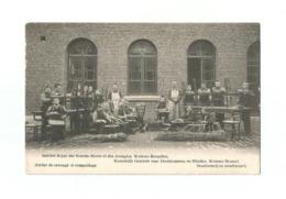 Institut Royal Des Sourds-Muets Et Des Aveugles, Woluwe-Bruxelles.  Atelier De Cannage Et Rempaillage. - Woluwe-St-Pierre - St-Pieters-Woluwe