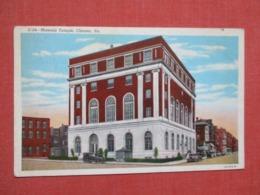 Masonic Temple  Chester  Pennsylvania      Ref   3658 - United States