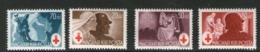 HONGRIE 1944 CROIX-ROUGE  YVERT N°649/52  NEUF MNH** - Cruz Roja