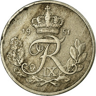 Monnaie, Danemark, Frederik IX, 10 Öre, 1951, Copenhagen, TTB, Copper-nickel - Dänemark