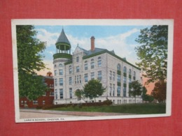 Larkin School   Chester  Pennsylvania      Ref   3658 - United States