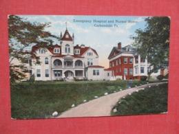 Emergency Hospital & Nurses Home  Carbondale  Pennsylvania      Ref   3658 - United States