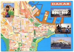 Senegal - Dakar - Map - Senegal