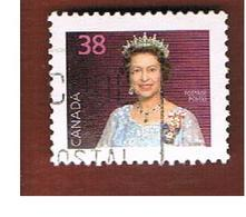 CANADA - SG 1162b   - 1988   QUEEN ELIZABETH II         -  USED - Usati