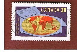 CANADA - SG 1337  - 1989 INTERN. TRADE   -   USED - Usati