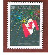 CANADA - SG 1389  - 1990  FLAG & FIREWORKS    -   USED - Usati