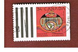 CANADA - SG 1405 - 1990  CHRISTMAS: REBIRTH     -  USED - Usati