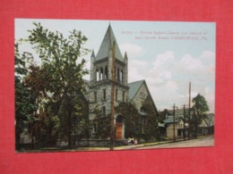 Berean Baptist Church Carbondale  Pennsylvania      Ref   3658 - United States