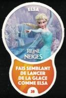 Carte à Collectionner Disney Auchan Les Défis Challenge Elsa 28 / 96 - Andere Sammlungen